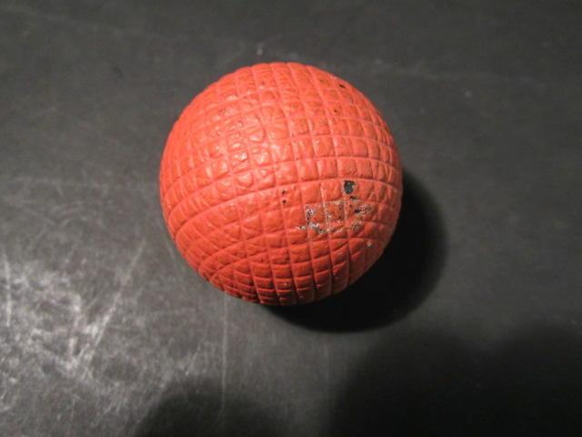 An un-named gutty golf ball circa 1880s