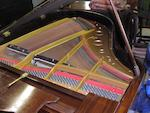 A good Steck Pianola baby-grand piano, circa 1920,