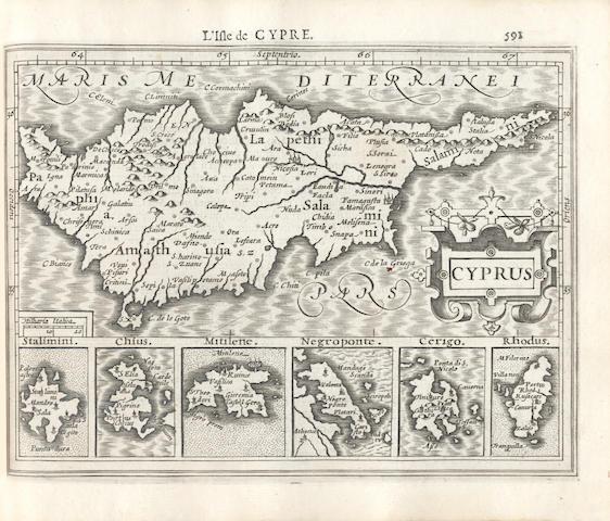 MERCATOR (GERARD) and JODOCUS HONDIUS. Atlas Minor, 1608