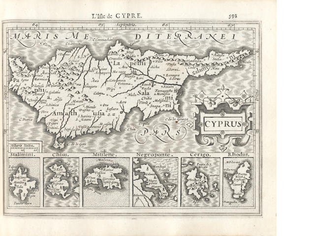 MERCATOR (GERARD) and JODOCUS HONDIUS. Atlas Minor, 1608