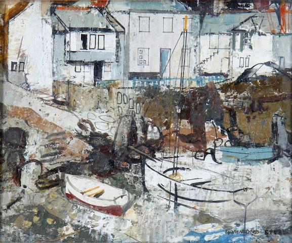 George Hammond Steel (British, 1900-1960) Mousehole, Cornwall