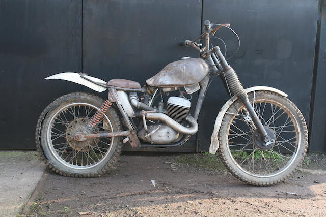 c.1961 BSA Bantam D7 172cc Trials Motorcycle Frame no. D7 22276 Engine no. ED7B 20989