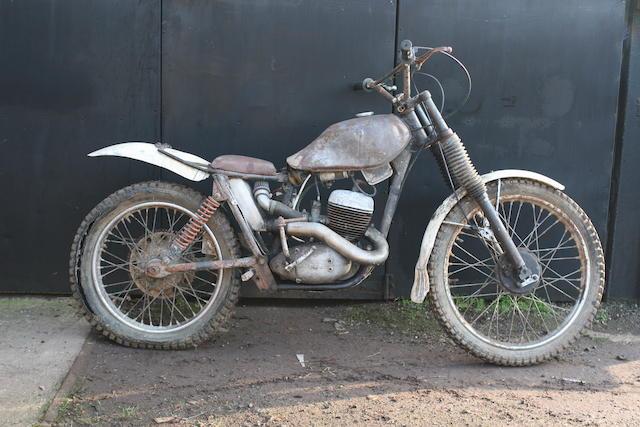 c.1961 BSA Bantam D7 172cc Trials Motorcycle Frame no. D7 22276 Engine no. ED7B 20989