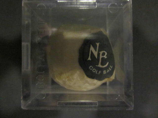 The North Berwick mesh patterned golf ball circa 1912