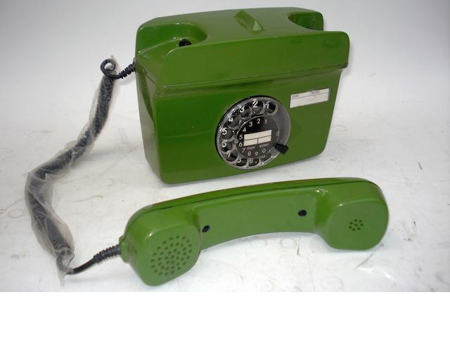 Wall-mounted and push-button 700-series telephones:  also extension sets and bellboxes,