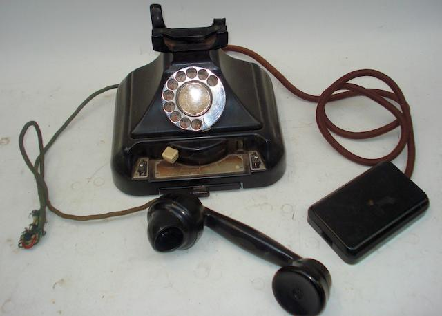 Installation 200-series models, and boxed GPO phone stock: a good quantity to include pre and post-war examples, black bakelite;