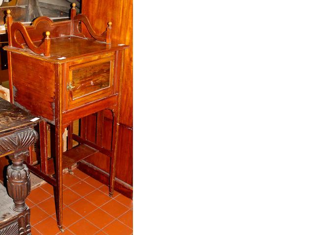 An Edwardian rosewood cabinet