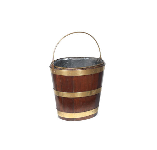 Oval George III peat bucket (B)