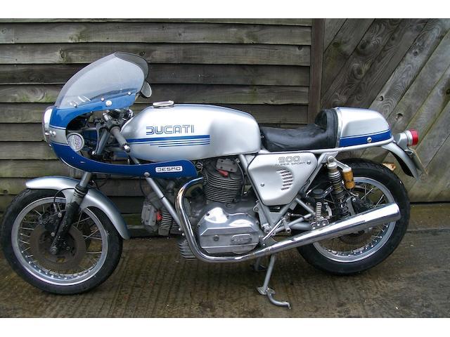 1975 Ducati 900SS  Frame no. DM860SS*087120*0CM137157M Engine no. 087281