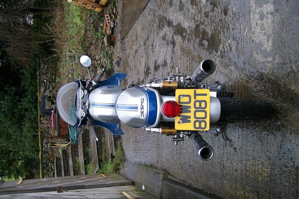 1975 Ducati 864cc 900SS Frame no. 860SS 087120 Engine no. 087281