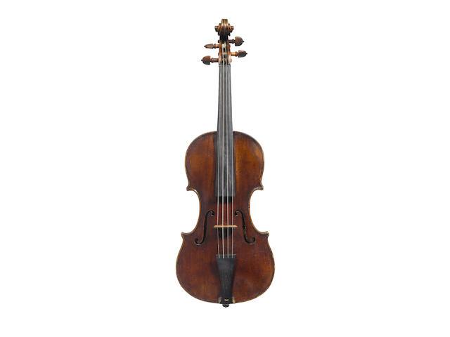 An Venetian Violin probably by Domenico Montagnana circa 1740 (3)