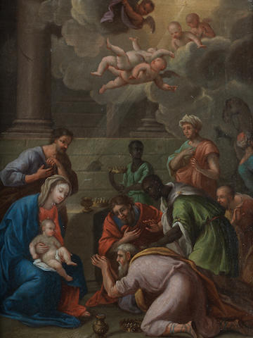 Neapolitan School, 18th Century The Adoration of the Magi