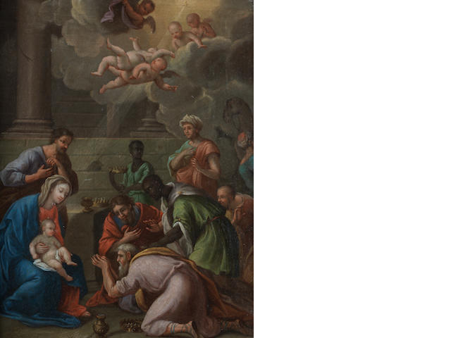 Giacinto Diano, called il Pozzulaniello (Pozzuoli 1731-1803 Naples) The Adoration of the Magi
