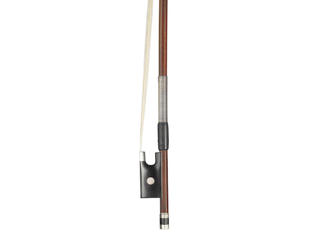An interesting French Violin Bow, Pecatte School (1)