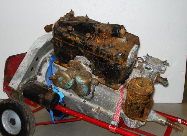 An Anzani 4-cylinder engine for 1920s Frazer-Nash,