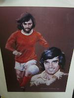 A large collection of unsigned prints - George Best