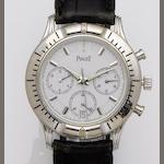 Piaget. A stainless steel automatic chronograph wristwatch