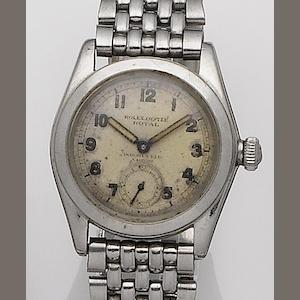 Rolex. A stainless steel bracelet watch retatiled by Dobbies Ltd, Nairobi Oyster Royal, Ref:2280, Case No.158571, Circa