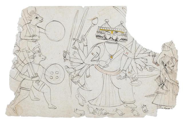 Rajasthan 19th century