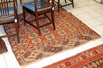 Four various Eastern rugs comprising: