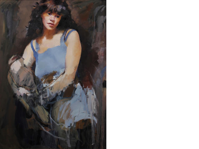 Robert O. Lenkiewicz (British, 1941-2002) Study of Jane McVicar