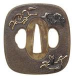 A sentoku tsuba 18th century