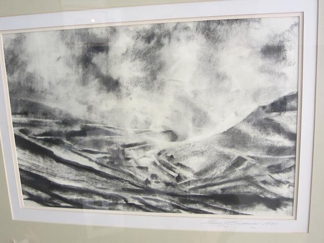 David L. Carpanini (British, born 1946) Welsh Landscape