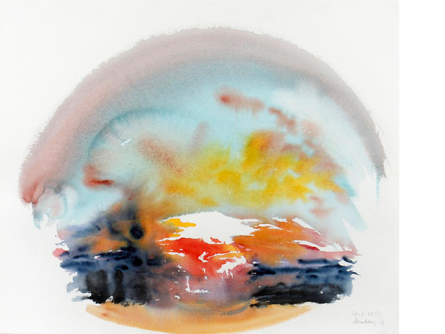 Maggi Hambling (British, born 1945) Sunrise