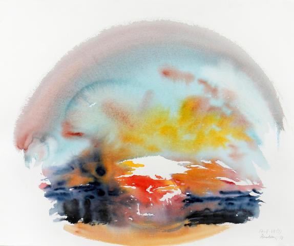 Maggi Hambling (British, born 1945) Sunrise