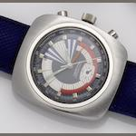Certina. A stainless steel manual wind chrongraph Chronolympic regatta, Ref 8701 504, 1970's