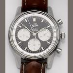Enicar. A stainless steel manual wind chronograph wristwatch Sherpa Graph, 1960's