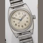 Rolex. A stainless steel manual wind bracelet watch Oyster, 1940's