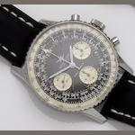 Breitling. A stainless steel manual wind chronograph wristwatch Navitimer, Ref:806, Case No.1067072, Circa 1960