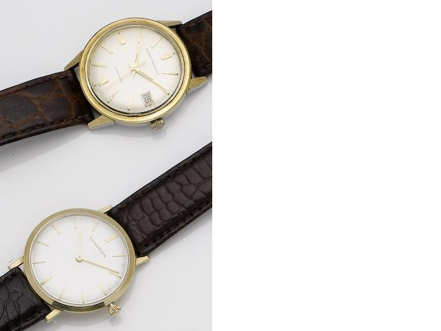 A lot of two various wristwatches
