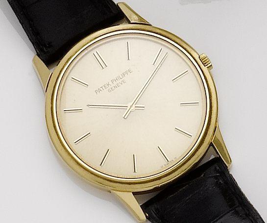 Patek Philippe. An 18ct gold automatic wristwatchCalatrava, Ref:3606, Movement No.1286692, Case No.52719, Circa 1970