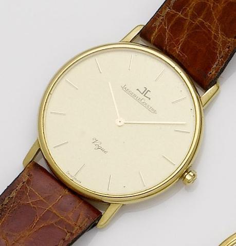 Jaeger-LeCoultre. An 18ct gold quartz wristwatchVogue, 1990's