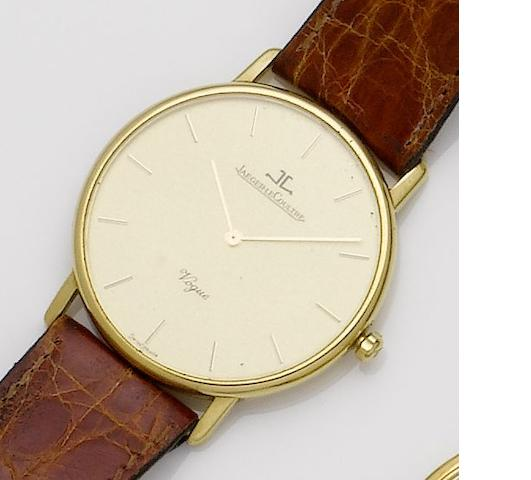 Jaeger-LeCoultre. An 18ct gold quartz wristwatch Vogue, 1990's