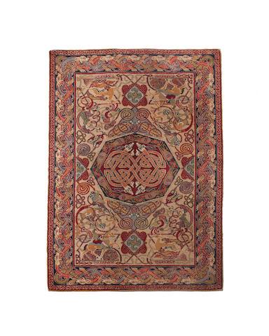 George Bain A Celtic Hunting rug 194cm x 120cm