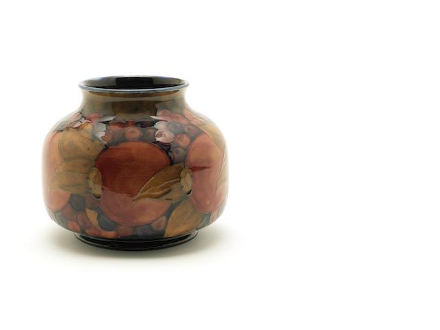 William Moorcroft 'Pomegranate' a Vase, circa 1916