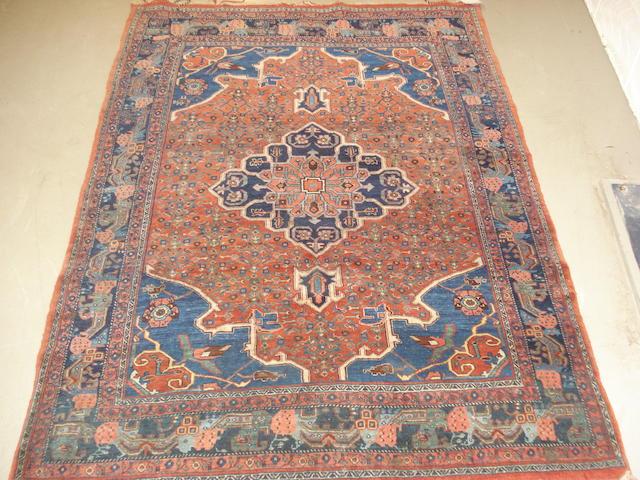 A Bidjar rug Persian Kurdistan, 188cm x 131cm