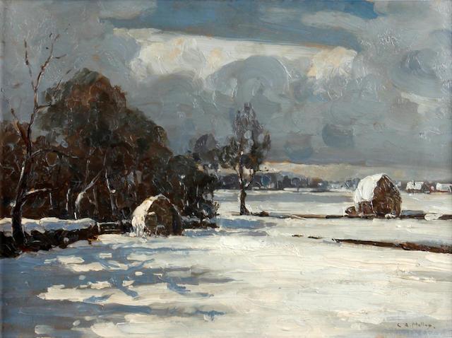 Campbell Archibald Mellon (British, 1876-1955) Gorleston, December 1923
