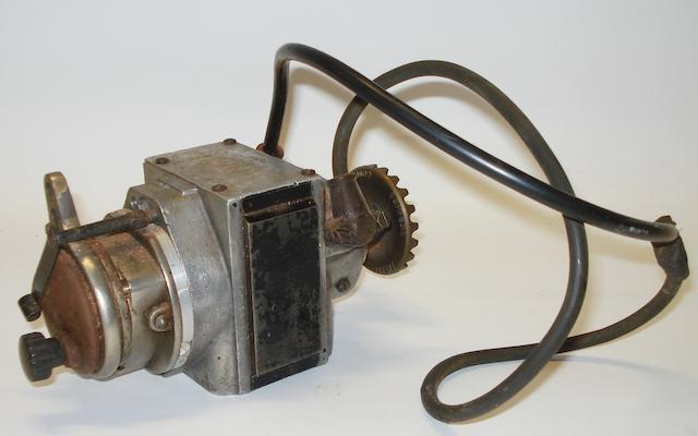 A vintage ML CKV twin-cylinder motorcycle magneto,