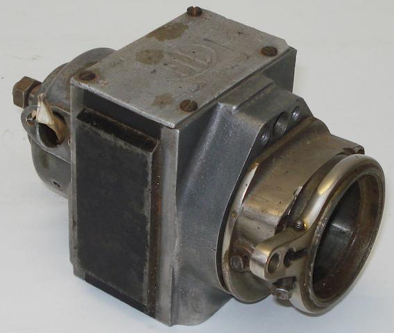 A vintage ML CK2 twin-cylinder motorcycle magneto,