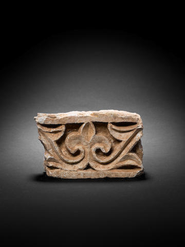 A stucco fragment from Madinat al-Zahra circa 10th century