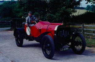 1908 Itala 100hp Grand prix Car,