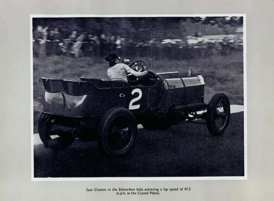 'Floretta' – the Ex-works, ex-Wil-de-Gose, John Pole, 'Sam' Clutton/Dr Bob Ewen/Jack Williamson/George Daniels,1908 Itala Grand Prix Car  Chassis no. 871 Engine no. 871