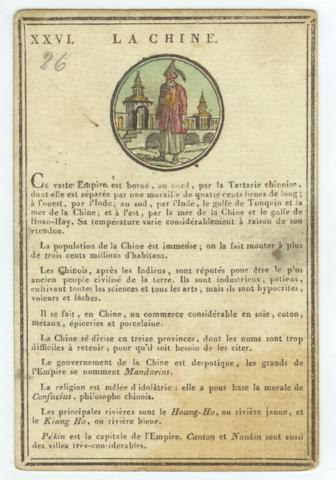 A collection of French educational playing card packs, by Etienne Jouy (1764-1848) and J. Latour, early 19th century,