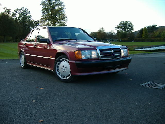 1992 Mercedes-Benz 190E 2.5-16 Sports Saloon  Chassis no. WDB2010352F586105 Engine no. 10299020000826