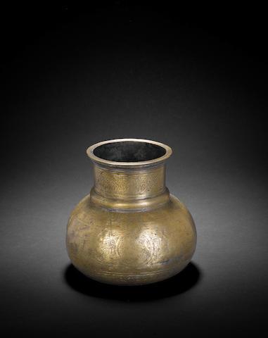 A rare and important Timurid tinned bronze Jug Samarqand, circa 1400-50