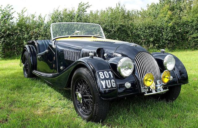 Formerly the property of the Vought family,1960 Morgan Plus 4 Super Sports Roadster  Chassis no. 4669 (see text) Engine no. TS79545ME